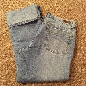 Calvin Klein Cropped Jeans Capris Sz 8